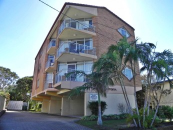 SECOND FLOOR UNIT IN SMALL COMPLEX WITH WATER VIEWS