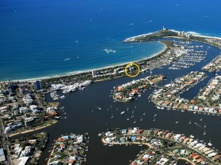 2 Bedroom Apartment in Prime Mooloolaba Location between Beach and River at Little Hill
